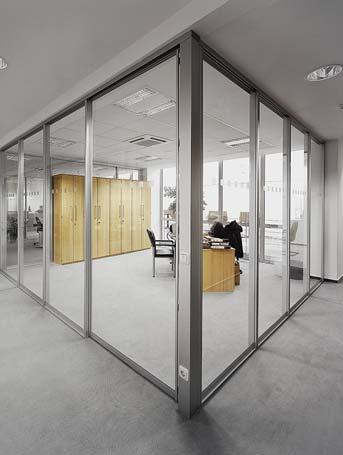 Partition wall solutions are the most efficient form how to achieve the most effective room dividing by using